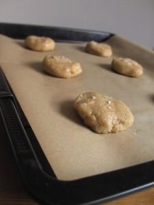 Salted Caramel Cookies Backblech