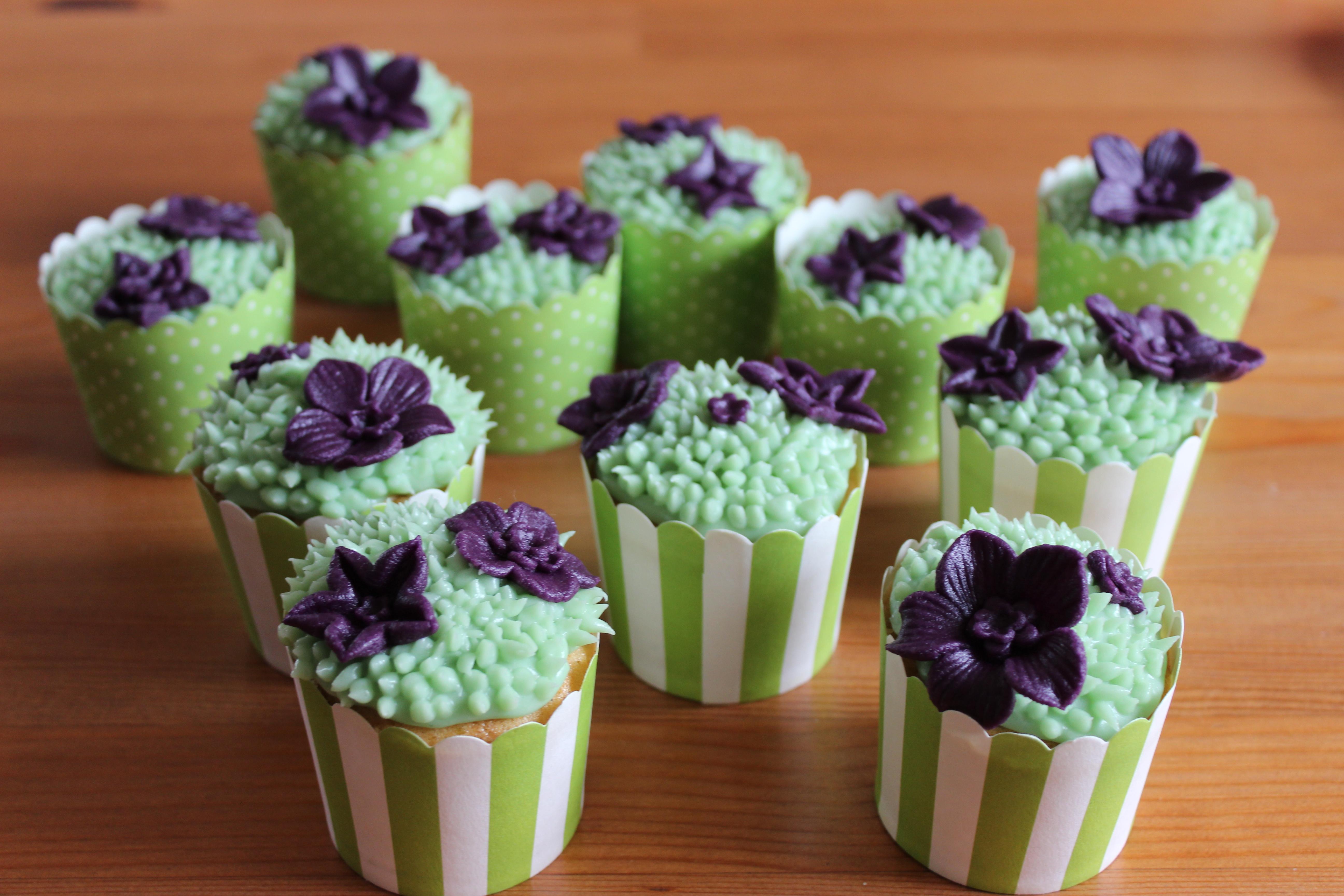 Frühlings-Cupcakes