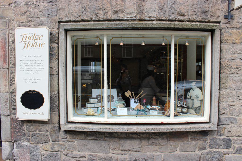 Reisebericht Edinburgh - Fudge house