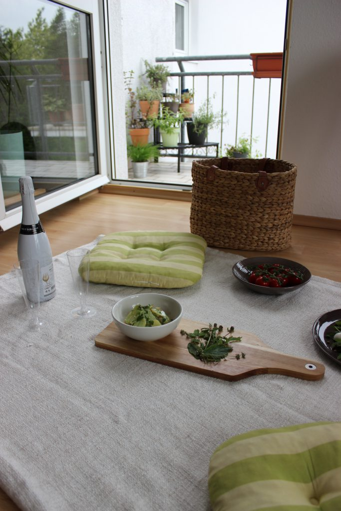 Indoor-Picknick