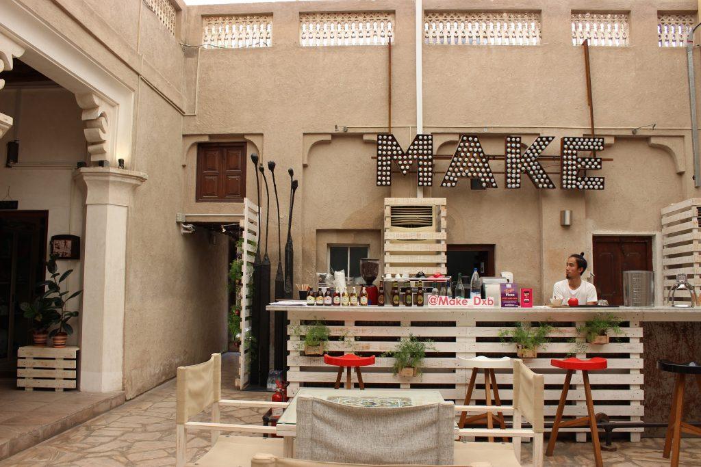 Dubai - Al Fahidi - Make Art Cafe