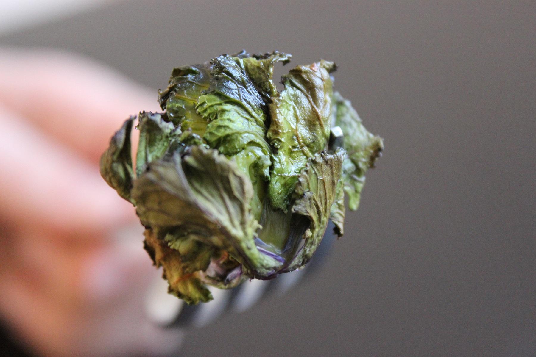 roasted flower sprouts ofenger stete kohlr schen. Black Bedroom Furniture Sets. Home Design Ideas