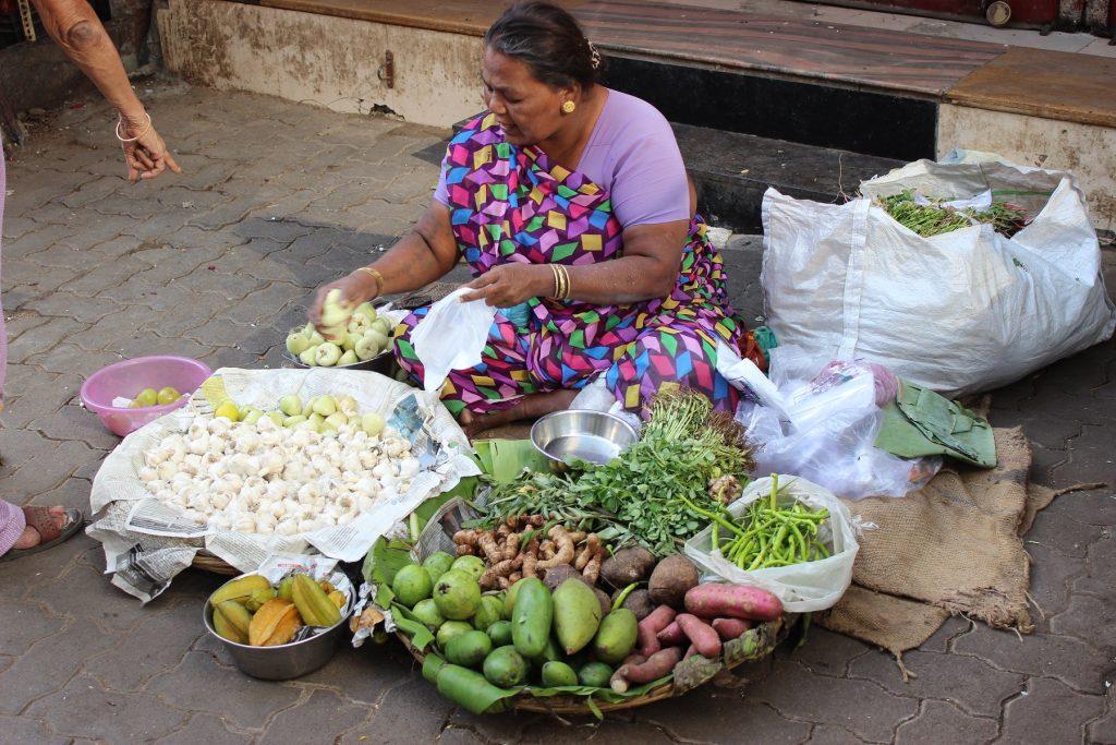 Mumbai Gemüsemarkt