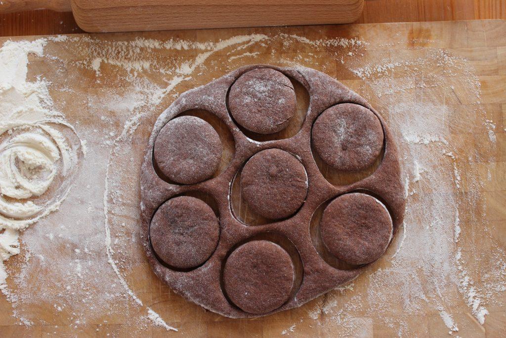 Doughnuts im Schwarzwälder Kirsch Style