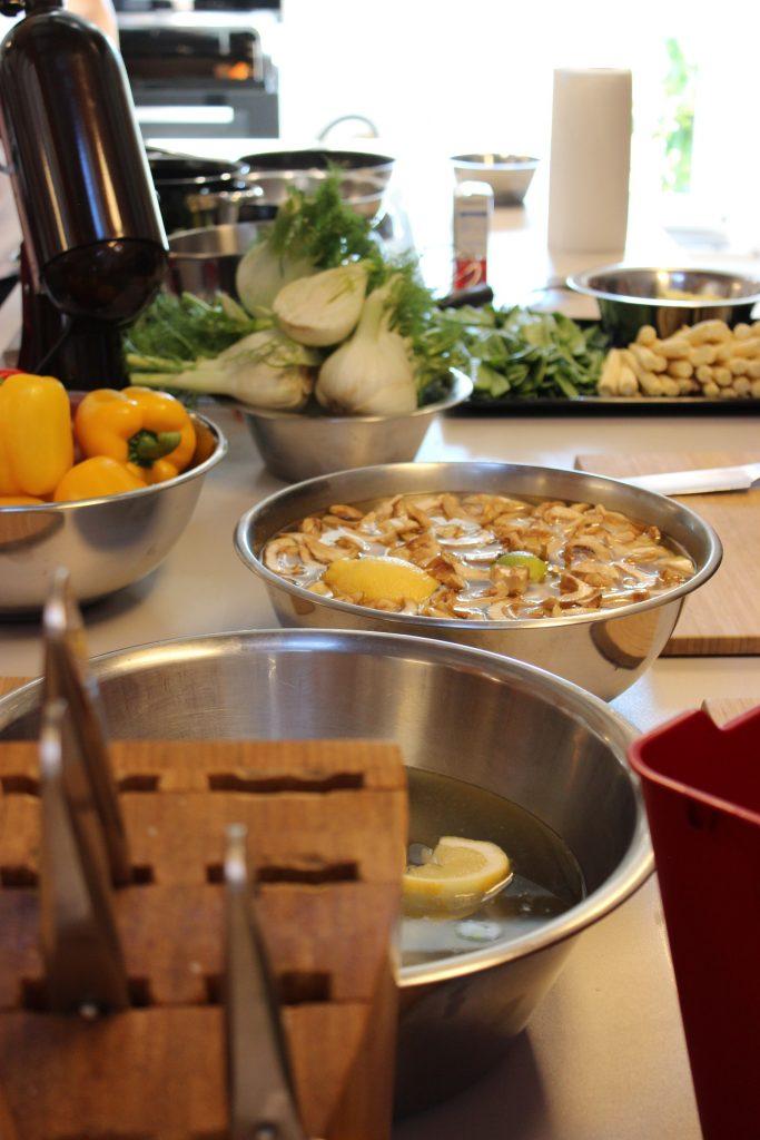 Küchen- und Weinparty mit Natalie Lumpp