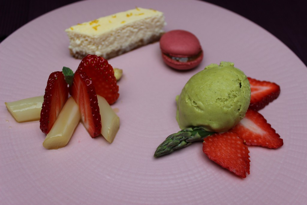Pfälzer Spargel Dessertvariation