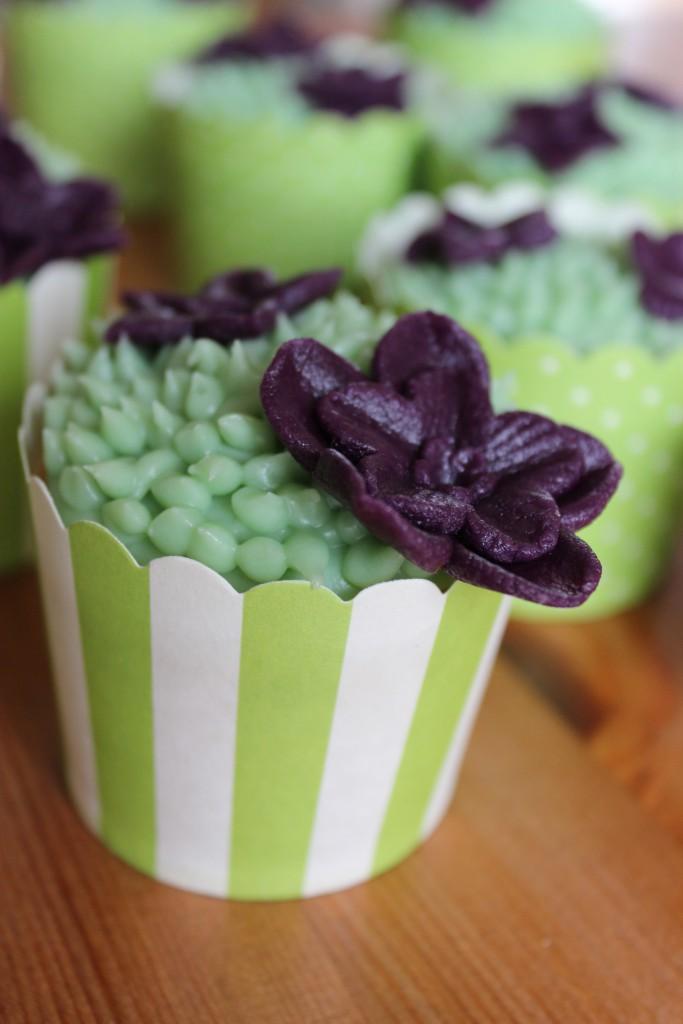 Blütenwiesen-Cupcakes