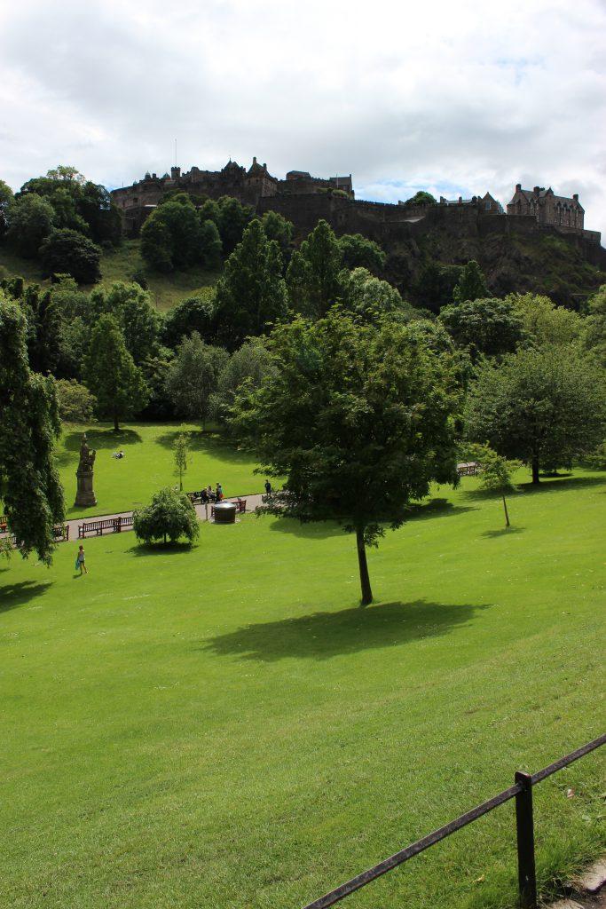Reisebericht Edinburgh - Princes street gardens