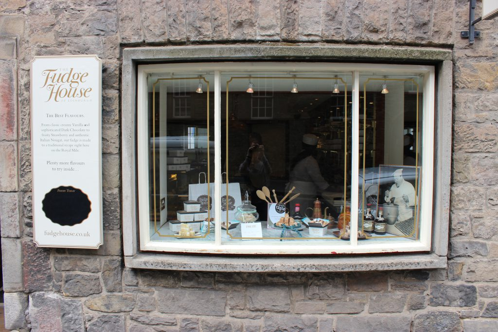 Reisebericht Edinburgh - Fudge house