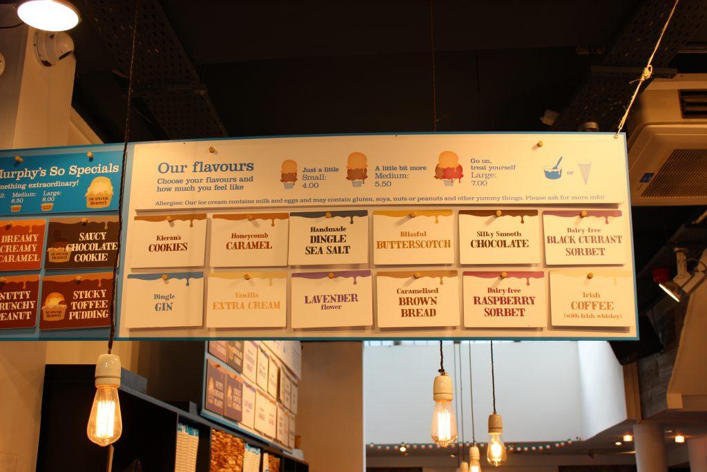 Murphys ice cream in Dublin