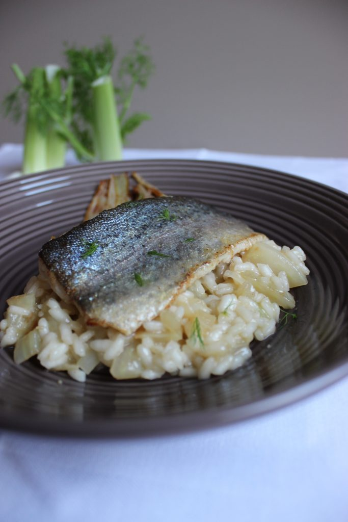 forelle-auf-fenchelrisotto