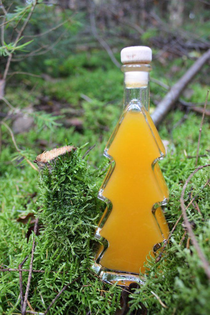 Mandarinen-Vanille-Sirup
