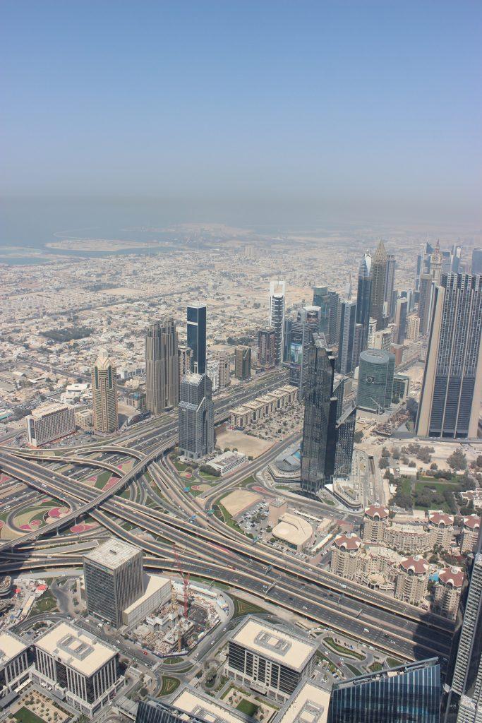 Dubai - Ausblick vom Burj Khalifa