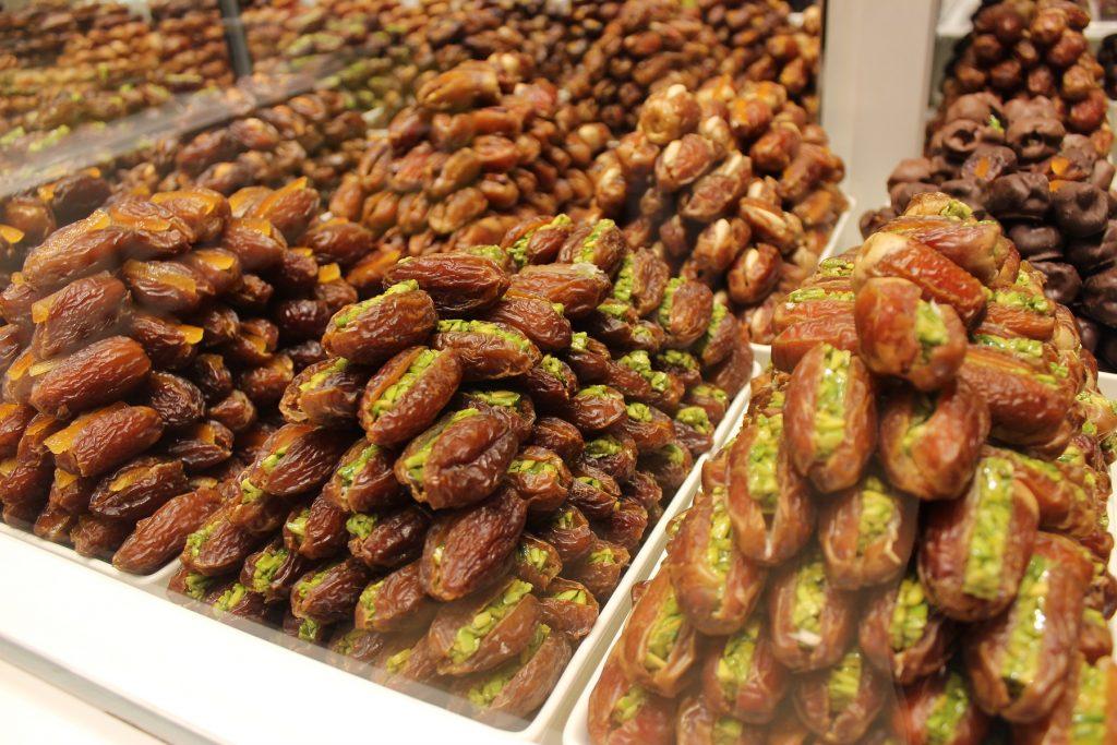 Dubai - Datteln in der Dubai Mall