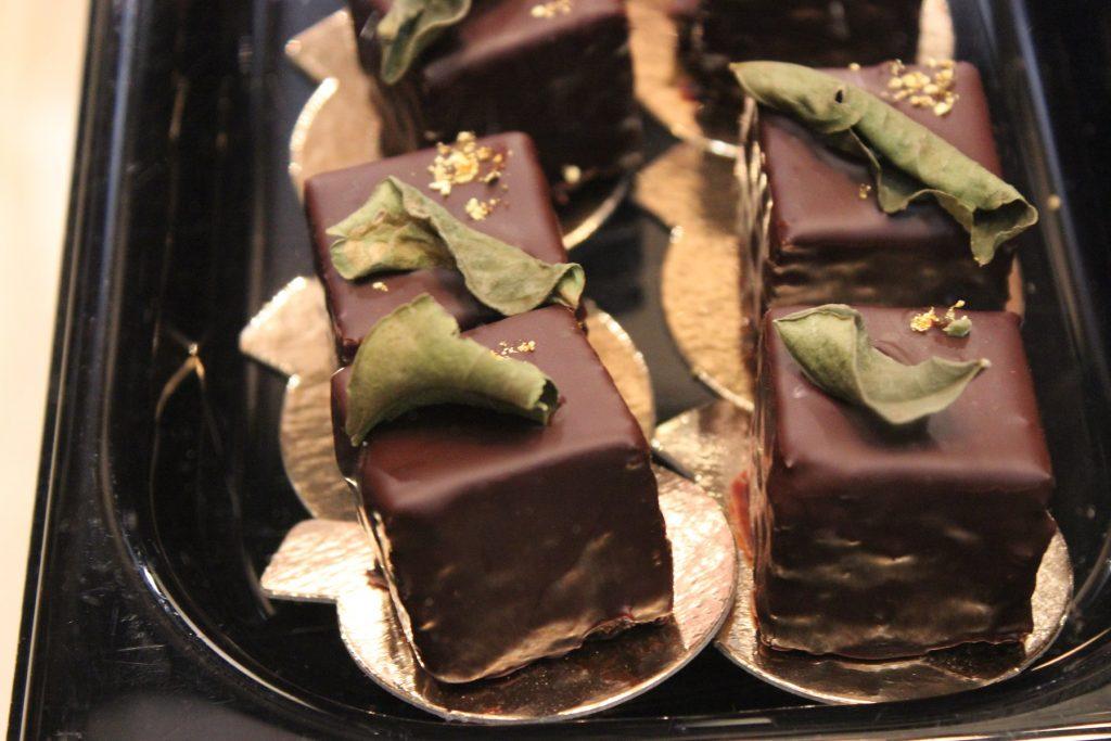 Petit salon du chocolat - Matcha/Schokolade/Himbeer/Ingwer