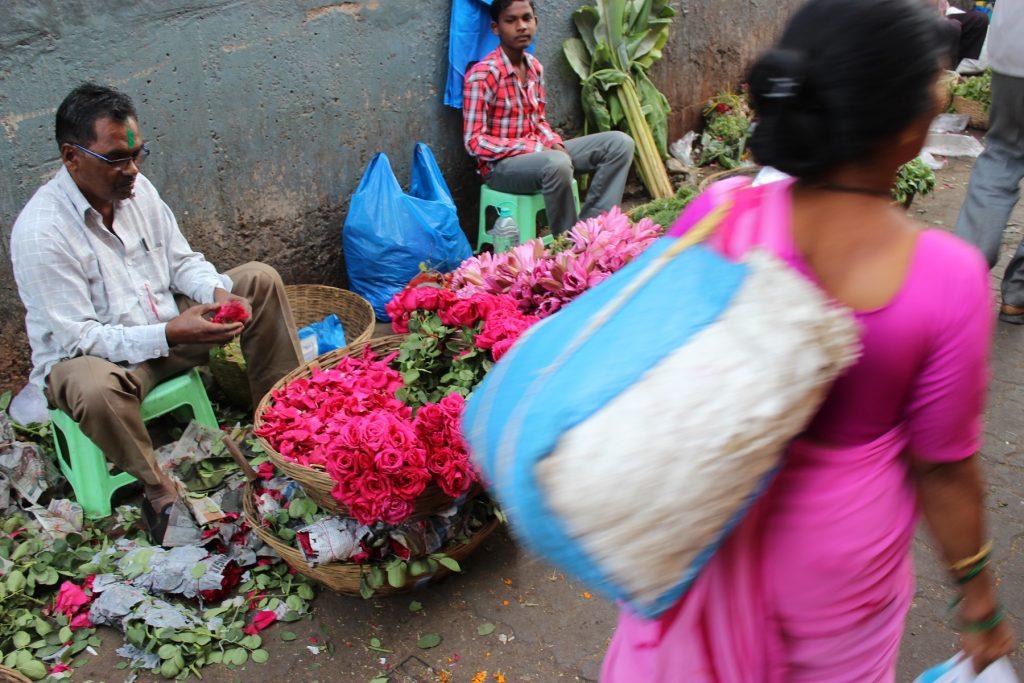 Mumbai - flower market