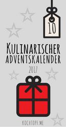 Kulinarischer Adventskalender 2017 - Tuerchen 10