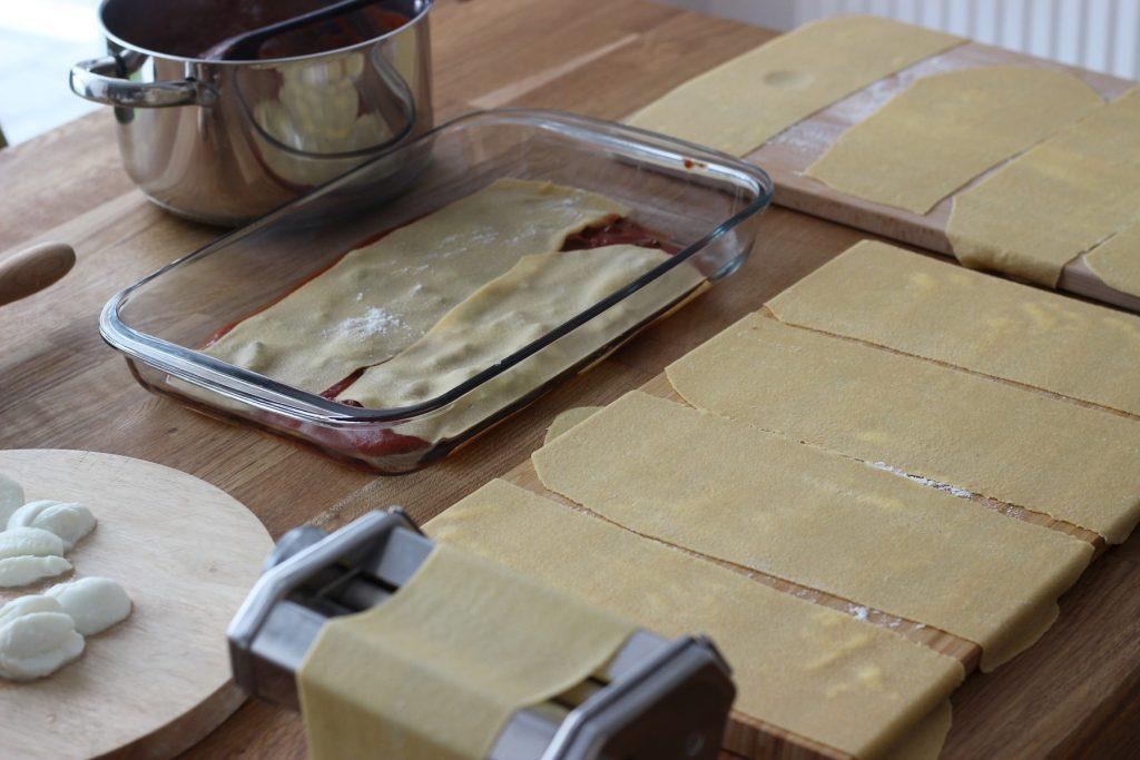 Lamm-Lasagne