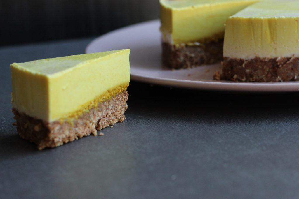 Golden Milk Cheesecake