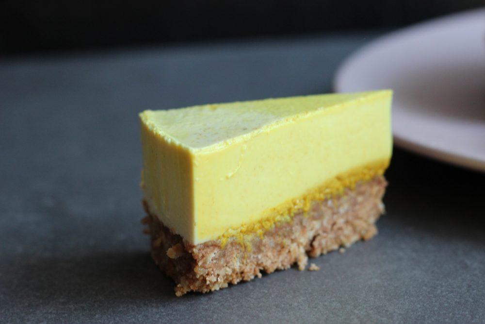 Golden Milk Cheesecake