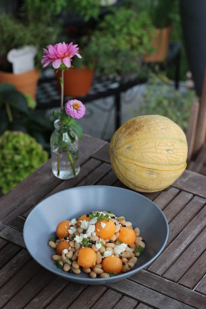 Charentais-Bohnensalat