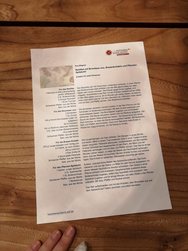 Evchen bei Die Küchenschlacht im ZDF