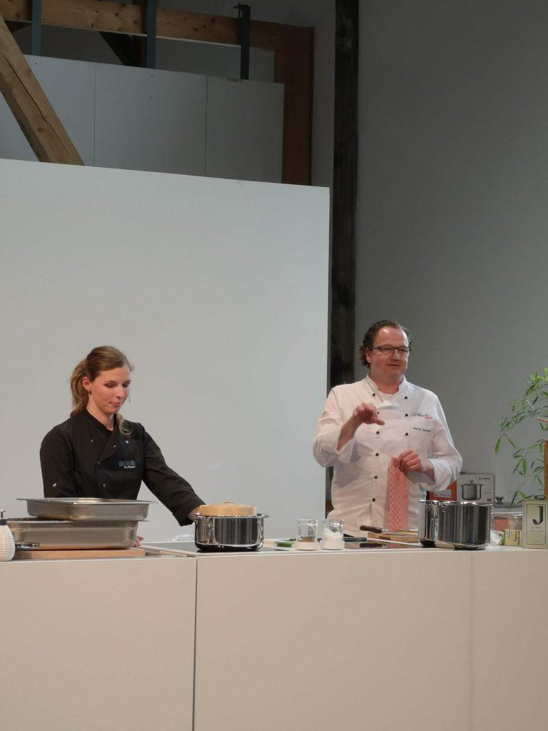 """Showcooking auf der Messe """"Tisch & Tafel"""" im April 2019"""