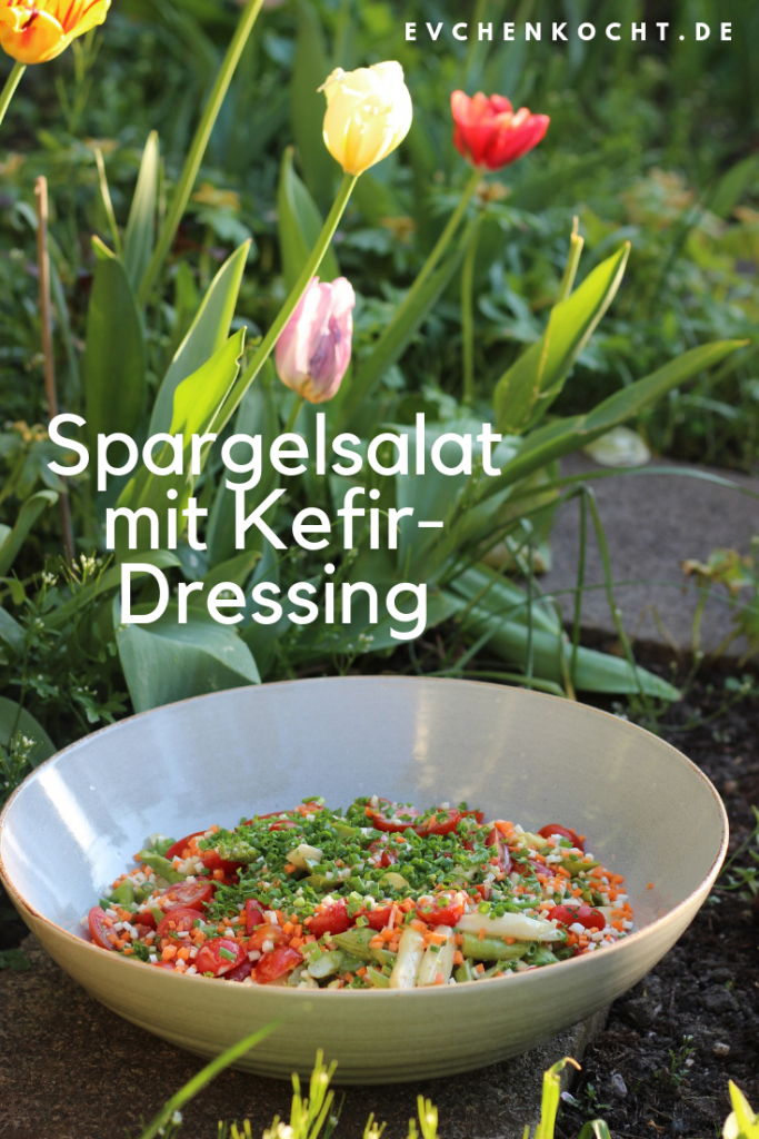 Spargelsalat mit Kefir-Dressing
