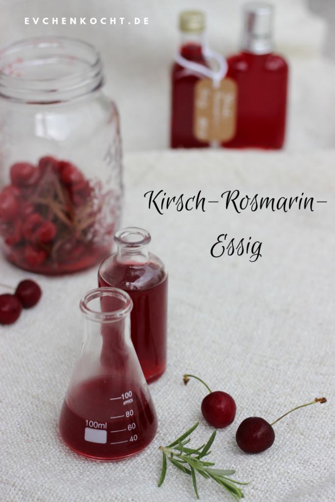 Kirsch-Rosmarin-Essig