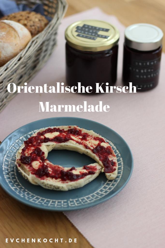 Orientalische Kirsch-Marmelade