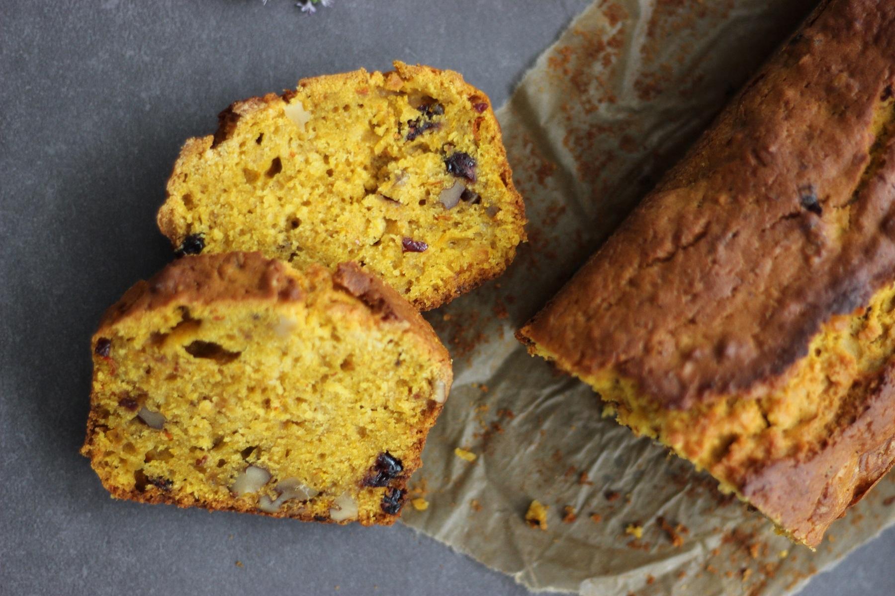 Pumpkin Bread - süßes und supersaftiges Kürbisbrot