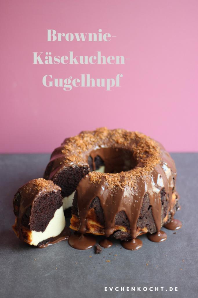 Brownie-Käsekuchen-Gugelhupf