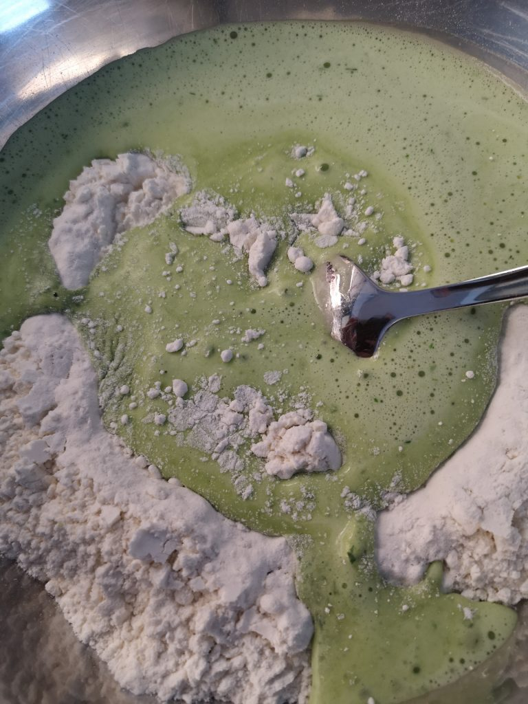 Selbstgemachte Bärlauch-Pasta