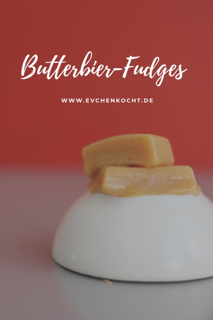 Butterbier-Fudges - Kochbuchrezension und Verlosung -Das inoffizielle Kochbuch für Harry Potter Fan