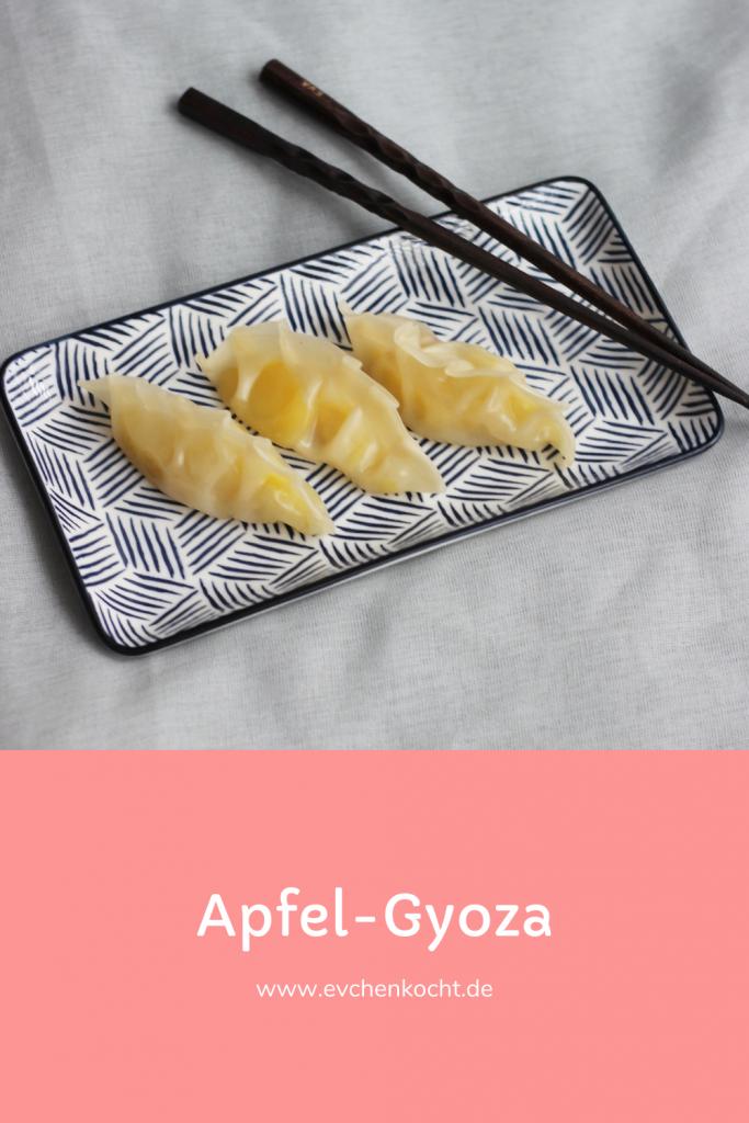 Apfel-Gyoza