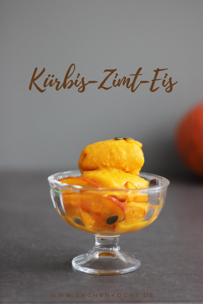Kürbis-Zimt-Eis