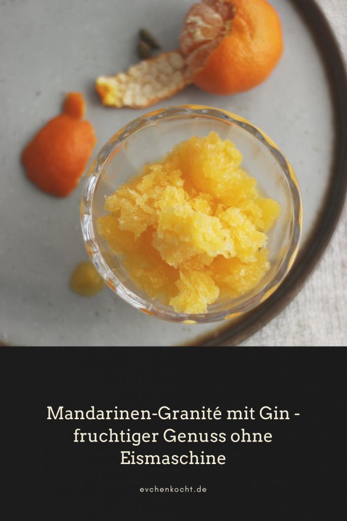 Mandarinen-Granité